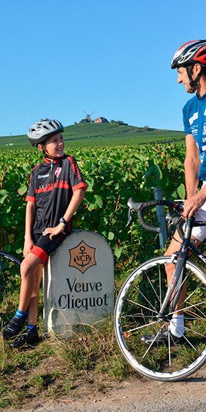 Sortie vélo à Verzenay